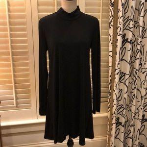 BCBG black knit dress